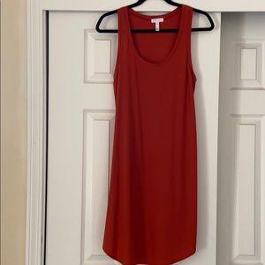 Leith tank dress. Size M